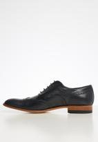 Watson - Leonard leather brogue -  dark navy