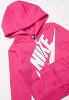 Nike - Nkg futura full zip hoodie - rush pink