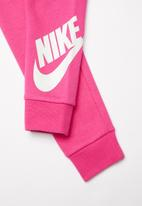 Nike - Nkg g nsw futura fleece jogger - rush pink