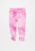 Nike - Nkg girls df watercolor leggings - magic flamingo