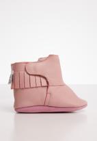 shooshoos - Christmas pie bootie - pink