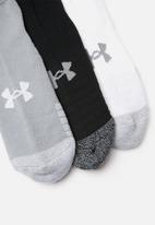 Under Armour - Heatgear lowcut 3 pack socks - multi