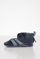 shooshoos - Leather Benson - navy