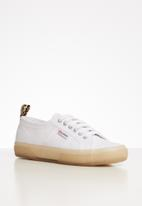 SUPERGA - 2750 ponytape animal print tag - white cheetah