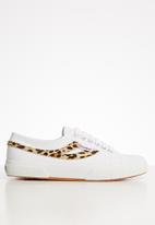 SUPERGA - 2750 ponytape animal swallow tail - white cheetah
