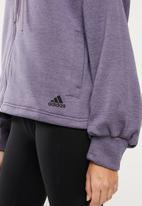 adidas - Gather hoodie - purple