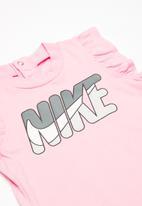 Nike - Nkg Nike romper w headband - pink & grey