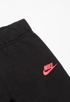 Nike - Nkg nsw heathered crew pantset - black