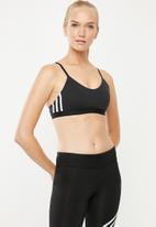 adidas Performance - Am 3 stripe bra - black