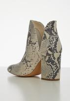Steve Madden - Rookie boot - grey & neutral