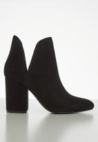 Steve Madden - Rookie suede boot - black