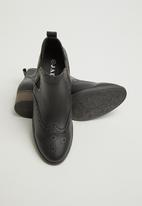 Jada - Decorative Chelsea boot -  black