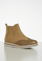 Jada - Flatform ankle boot - neutral