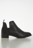 Jada - Brush ankle boot - black