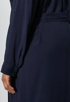 Superbalist - Maxi shirt dress - navy