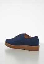 Jada - Flatform oxford - blue