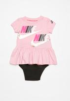 Nike - Nike girl dress - pink & black