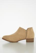 Jada - Ankle bootie - natural