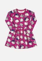 Hello Kitty - Girls kitty print dress - multi