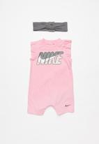 Nike - Nkg Nike romper w headband - pink