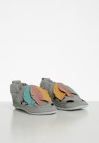 shooshoos - Cherokee leather slip-on - grey