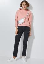 Superbalist - Crop hoodie - dusty pink