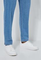Superbalist - Tapered leg dungaree - blue