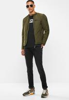 Replay - Quilted military jacket - olive