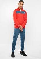 PUMA - Techstripe classic tricot tracksuit - red