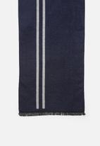 Superbalist - Jac scarf - grey & navy