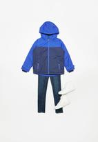 POP CANDY - Boys hooded jacket - blue