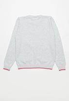 POP CANDY - Girls jersey - grey