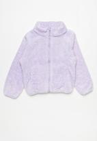 Rebel Republic - Girls fleece jacket - purple