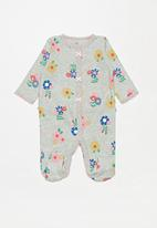 POP CANDY - Long sleeve sleepsuit - grey multi
