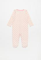 POP CANDY - Baby long sleeve sleepsuit - pink