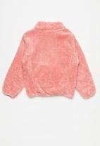 Rebel Republic - Girls fleece jacket - pink
