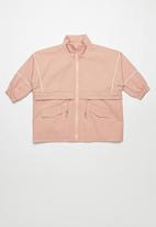 Rebel Republic - Girls parka jacket - pink