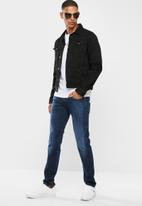 Replay - Slim hyperflex mid wash jeans - blue