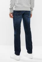 Replay - Skinny mid wash jeans - blue