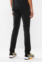 Replay - Slim hyperflex black jeans  - black