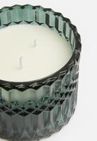 H&S - Lidded candle - charcoal