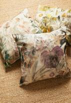 Hertex Fabrics - Highgrove cushion cover - tourmaline