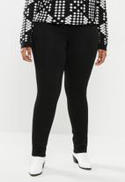 JUNAROSE - Slim solid jeans - black