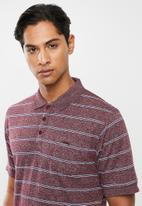 JEEP - Fine stripe golfer - multi