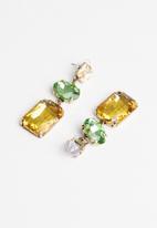 Superbalist - Multi-coloured drop earrings - multi
