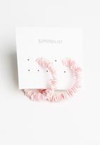 Superbalist - Belle hoop earrings - pink