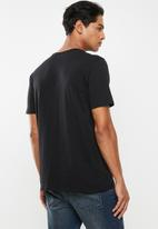 Hurley - Prm one & only gradient tee - black