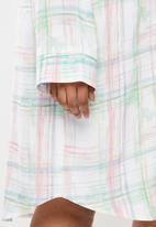 Superbalist - Plus sleep shirt - pastel check