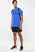 Under Armour - Sportstyle logo tee - blue & black