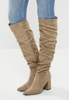 Superbalist - Kadie over-the-knee boot - taupe